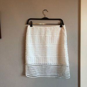 JOA white skirt